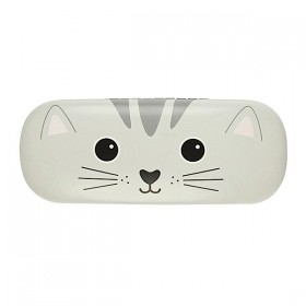 Etui a lunette decor chat