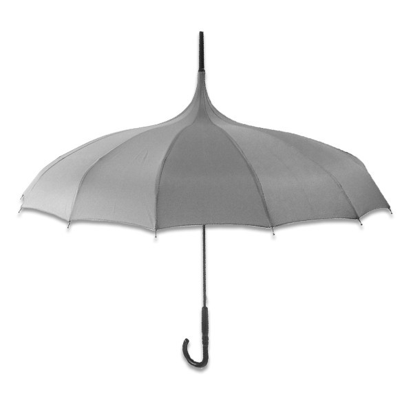 Parapluie long forme pagode